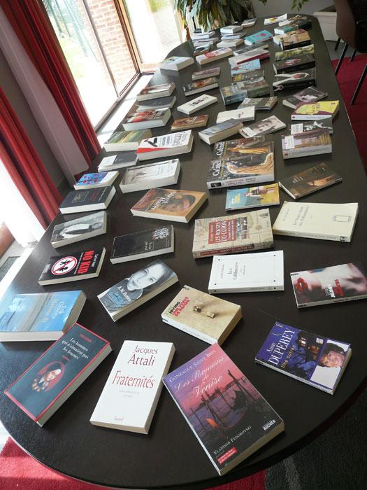 Inauguration du livre échange citoyen